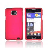 AT&amp;T Samsung Galaxy S2 Rubberized Hard Case - Rose Pink