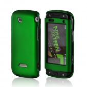 Samsung Sidekick 4G Rubberized Hard Case - Green