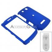 Blackberry Storm Rubberized Hard Case - Blue