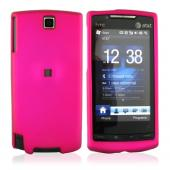 HTC Pure Rubberized Hard Case - Rose Pink