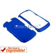Motorola Clutch i465 Rubberized Hard Case - Blue