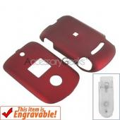 Motorola VU204 Rubberized Hard Case - Red