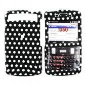 Samsung Intrepid i350 Rubberized Hard Case - Polka Dots