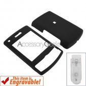 Samsung Propel Pro Rubberized Hard Case - Black