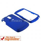 Samsung Jack i637 Rubberized Hard Case - Blue
