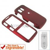 Samsung Rant Rubberized Hard Case - Red