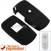 Samsung T109 Rubberized Hard Case - Black