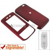 Verizon Samsung Sway Rubberized Hard Case - Red