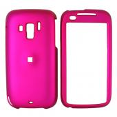 Verizon HTC Touch Pro 2 Rubberized Hard Case - Rose Pink