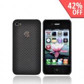Apple iPhone 4 Back Cover Hard Case - Black
