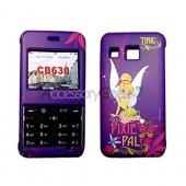 MOBO Disney Licensed LG Invision CB630 Rubberized Hard Case - Pixie Pal Tinkerbell on Purple
