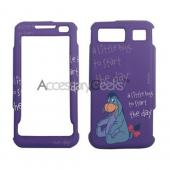 MOBO Disney Licensed Samsung Omnia Hard Case - Eeyore on Purple