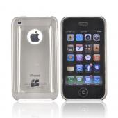 Apple iPhone 3G 3GS Ultra Slim Snap On Back Cover Case - Transparent Smoke