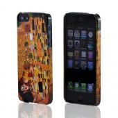 Geeks Designer Line (GDL) Apple iPhone 5 Gustav Klimt Slim Hard Back Cover - The Kiss