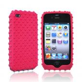 Original Gumdrop Apple iPhone 4 Silicone Case, GUMSKIN4G-PNK - Hot Pink