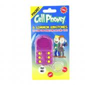 "6 Funny ""Common Ringtone"" Prank Soundbox Pocket Keychain"
