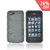 AT&amp;T/ Verizon Apple iPhone 4, iPhone 4S Fusion Candy Case - Black