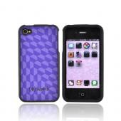 Original Speck Apple Verizon/ AT&T iPhone 4, iPhone 4S Fitted Case, IPH4FTD-A02A025 - Purple Spexy
