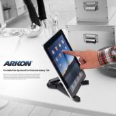 Original Arkon Universal Apple iPad Foldable Portable Tablet Stand Holder, IPM-TAB1 - Black