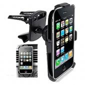 Original Arkon Apple iPhone 3G 3Gs Swivel Tightening Car Air Vent Mount, IPM129-SBH - Black