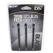 KUMA Nintendo DSi Stylus Pen - Black (3 pack)