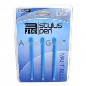 KUMA Nintendo DSi Stylus Pen - Matte Blue (3 pack)