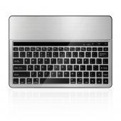 Premium Silver/ Black Universal Bluetooth 3.0 Keyboard (Fits up to 10.1 inch tablets)