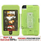 Apple iPod Touch Metal Armor Case - Green