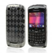 Blackberry Curve 9360/ Apollo Crystal Silicone Case - Smoke