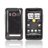 HTC EVO 4G Crystal Silicone Case - Smoke Argyle
