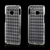 Argyle Clear Crystal Silicone Case for HTC One
