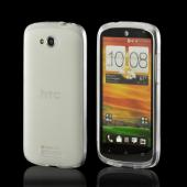 Frost White Crystal Silicone Case for HTC One VX