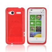 HTC Radar 4G Crystal Silicone Case - Argyle Red