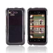 HTC Rhyme Crystal Silicone Case - Transparent Smoke