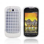 T-Mobile MyTouch 4G Crystal Silicone Case - Argyle Transparent Clear