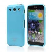Sky Blue Crystal Silicone Skin Case for LG Optimus G Pro