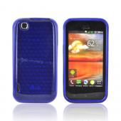 T-Mobile MyTouch Crystal Silicone Case - Hexagonal Blue