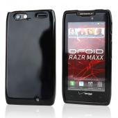 Motorola Droid RAZR MAXX Crystal Silicone Case - Black