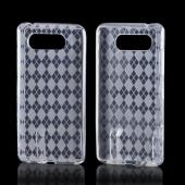 Clear Argyle Crystal Silicone Case for Nokia Lumia 820