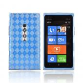 Nokia Lumia 900 Crystal Silicone Case - Argyle Clear