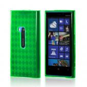 Argyle Green Crystal Silicone Case for Nokia Lumia 920