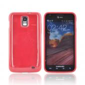Samsung Galaxy S2 Skyrocket Crystal Silicone Case - Red