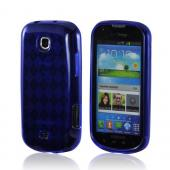 Samsung Galaxy Stellar Crystal Silicone Case - Argyle Blue