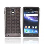 Samsung Infuse 4G i997 Crystal Silicone Case - Smoke Argyle