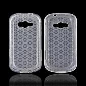 Samsung Galaxy Reverb Crystal Silicone Case - Clear Hex Star