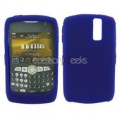 Blackberry Curve 8350i Silicone Case, Rubber Skin - Purple