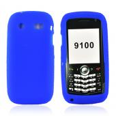 Blackberry Pearl 3G 9100/9105 Silicone Case, Rubber Skin - Blue