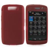 Blackberry Storm 2 Silicone Case, Rubber Skin - Plum