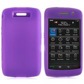 Blackberry Storm 2 Silicone Case, Rubber Skin - Purple