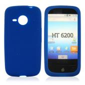 HTC Droid Eris 6200 Silicone Case, Rubber Skin - Blue